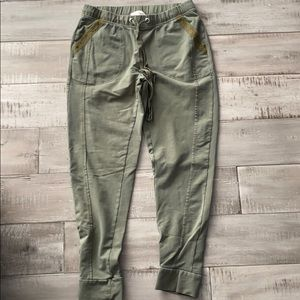 Sat sun by anthro joggers. Size XS.